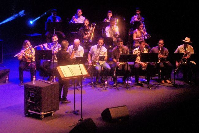 La Big Band Clasijazz Swing & Funk puso el broche final al III Festival de Jazz de Roquetas de Mar