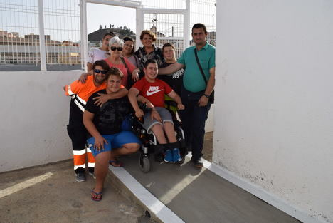 El Ayuntamiento de Gádor elimina barreras arquitectónicas en sus instalaciones deportivas
