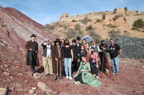 Benahadux acoge el rodaje del western 'Bendición. Sangre y nácar'