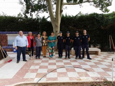 Los alumnos de la Escuela Taller 'Vivero Provincial' realizan prácticas profesionales en Gádor