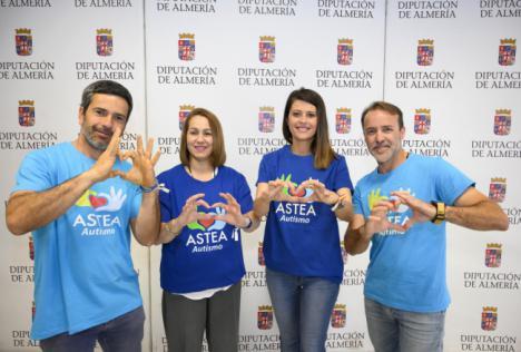 Diputación apoya la I Runner y Marcha Solidaria de Astea Autismo en Garrucha