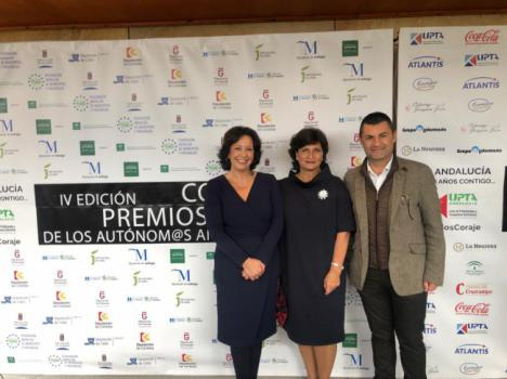 Dos empresas almerienses premiadas en los IV Premios Coraje de los autónomos andaluces
