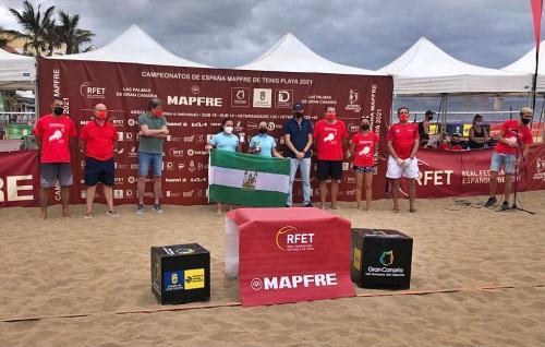 Dos hermanas de Pulpí se hacen Campeonas de España sub 14 de tenis playa