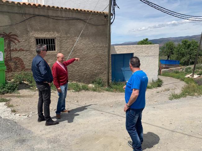 Diputación mejora el acceso a Abrucena para el tránsito de autobuses
