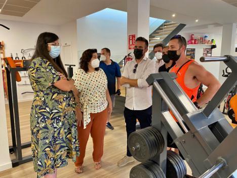 Laujar estrena Gimnasio gracias a la colaboración con la Diputación