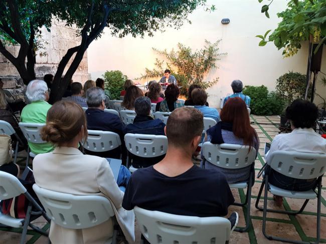 El Patio del Mandarino se consolida como espacio para la cultura con 'Alex 2019'