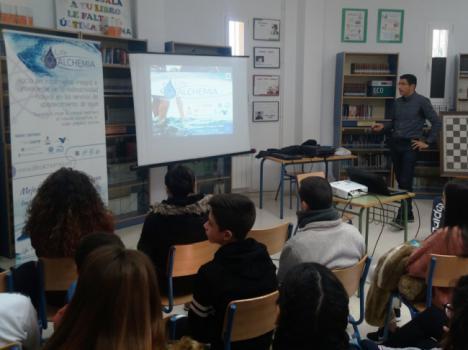 Arrancan en Alboloduy las obras de la potabilizadora 'sostenible' del proyecto 'Life Alchemia'