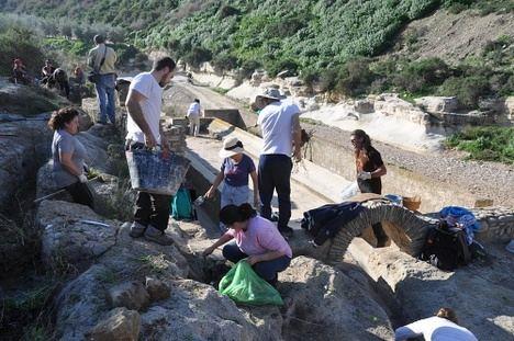 Jornada participativa para la recuperación de la Fuente de Los Caños de Sorbas