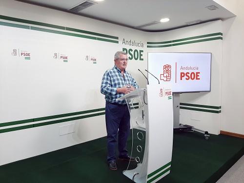 El PSOE llama 'ausente' a Bonilla al tiempo que le critica lo hace y dice