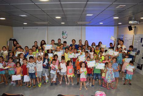 Gádor clausura la Escuela de Verano en la que han participando alrededor de 80 niños