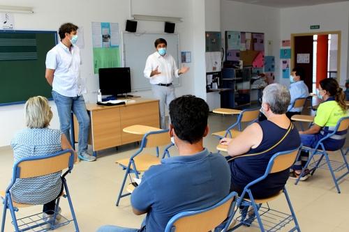 Los colegios de Roquetas reciben material preventivo por el #COVID19