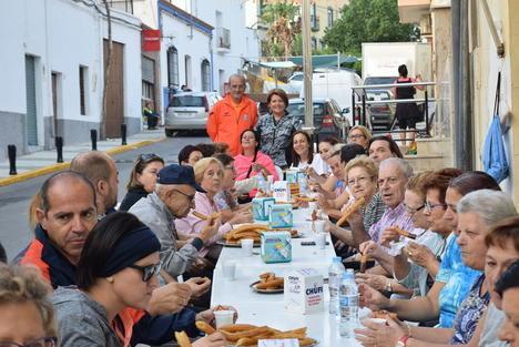 Arranca la Feria de Gádor con la popular marcha saludable por la vega y chocolatada
