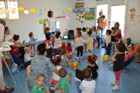 Las actividades de animación infantil marcan el comienzo de la Feria de Gádor