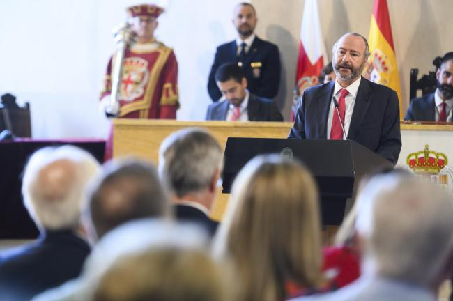 """Rodríguez-Comendador dice que """"la libertad debe ser atendida, vigilada y defendida a diario"""""""