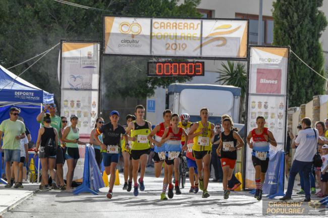 El Circuito de Carreras Populares de Diputación viaja a Cuevas del Almanzora