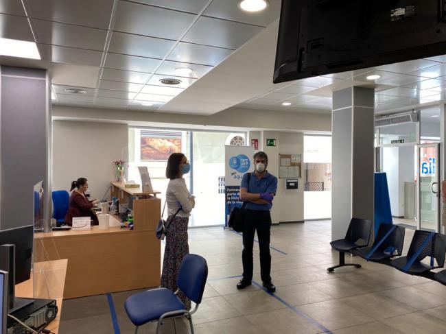 Aqualia reabre su oficina de atención al cliente adaptada al #COVID19