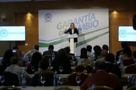 Maribel Sánchez dice que el PP quiere trasladar a la Junta el buen gobierno municipal del PP