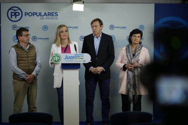 Maribel Sánchez reprocha a Susana Díaz que no defienda a los regantes de Almería