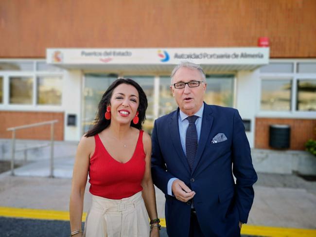 Bosquet analiza con Caicedo los proyectos de la Autoridad Portuaria de Almería