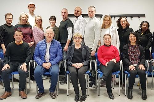 Estudiantes de 13 países en el Máster Internacional de Fisioterapia en la UAL