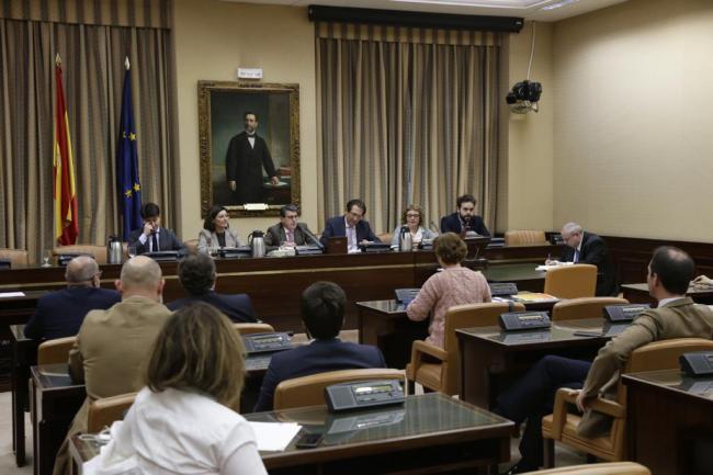 Matarí preside la primera reunión de la Comisión de Seguridad Vial en el Congreso