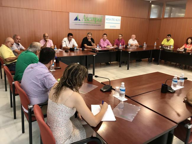 La Mesa del Agua de Almería alerta de la crisis hídrica de Almería