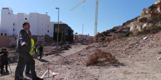 Las obras de la calle Antonio Vico pueden quedar finalizadas en el primer trimestre del año