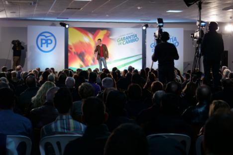 Casado define en Níjar al PP como el partido de las clases trabajadoras