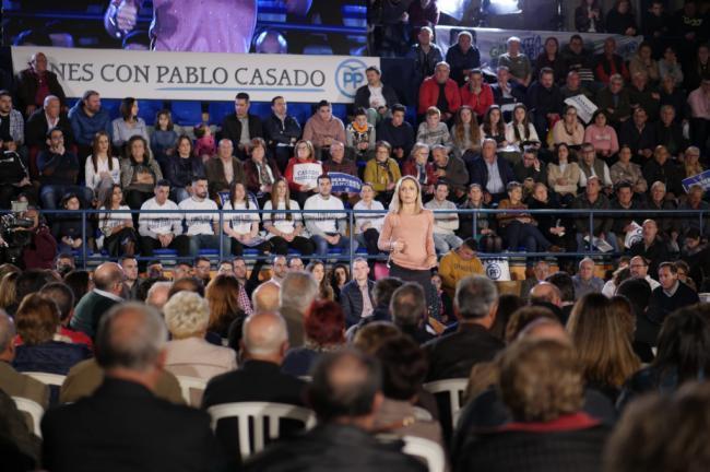 Maribel Sánchez asegura que el PSOE 'maltrata' a la comarca del Almanzora