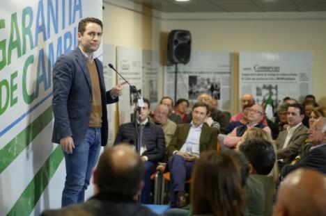Teodoro García cierra campaña en Gádor pidiendo el voto para el PP, garantía de cambio