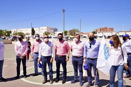 Diputación se suma al 'Agro' almeriense y exige mantener los caudales del Trasvase Tajo-Segura