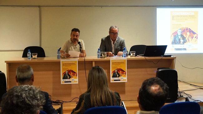 Andrés Sánchez Picón habla en Vera sobre el renacer de la ciudad tras el terremoto de hace cinco siglos