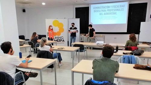 Curso sobre fiscalidad para el trabajador audiovisual de Diputación