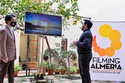 Diputación crea una plataforma en 'Filming Almería' para promocionar las localizaciones