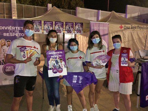 4.000 personas visitaron el Punto Violeta del Cooltural Fest