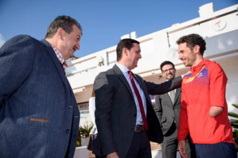 'Mar de Pulpí' se afianza como sede de entrenamiento de la Federación Española de Triatlón