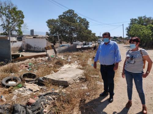 El PSOE de El Ejido pide reparto de mascarillas en los asentamientos ahora