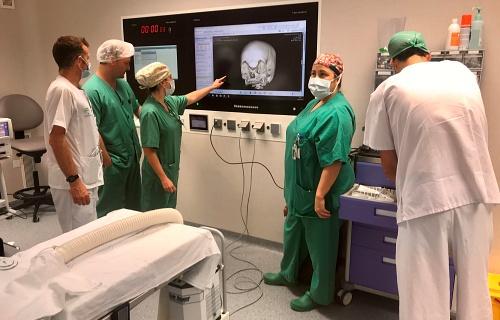 Primeras cirugías pediátricas en el Hospital Materno Infantil de Almería
