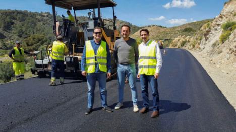 Diputación invierte 240.000 euros en carreteras de La Alpujarra y el Levante