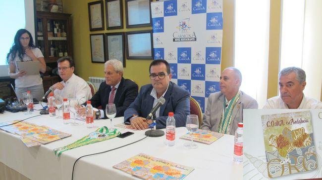 """El """"Club de Oro de la Mesa Andaluza"""" presenta su revista """"Oro"""" en Terraza Carmona de Vera"""