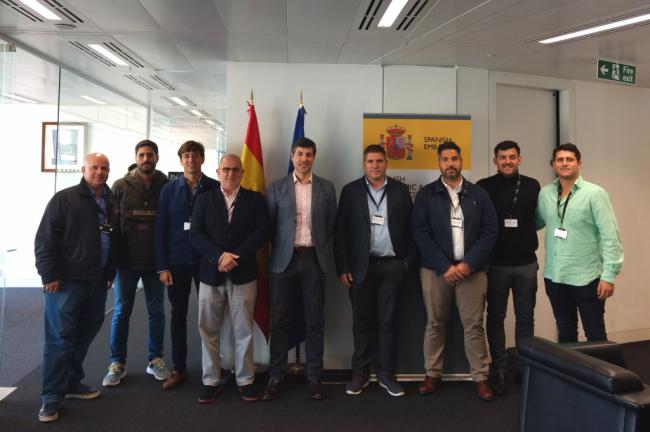 Siete empresas de Almería buscan negocio en Reino Unido