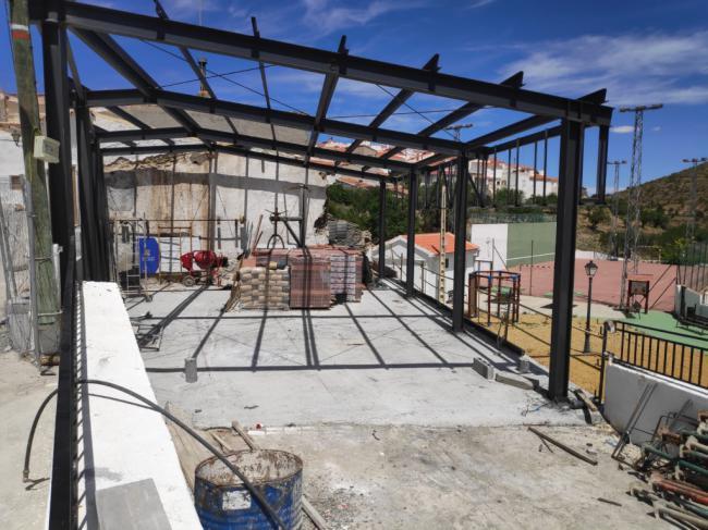 Recta final del 'Museo de Historia Ecológica de Almería' en Alcudia de Monteagud