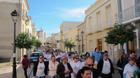 II Marcha en Vera por la plena inclusión de las personas con discapacidad