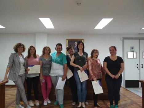 Pulpí entrega diplomas del Curso de Atención Sociosanitaria a Personas Dependientes en el Domicilio
