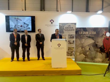Presentado en Fitur el proyecto de puesta en valor de la Geoda Gigante de Pulpí