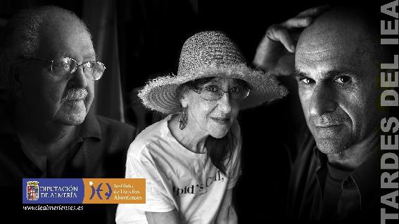 Las tardes del IEA homenajean a Julio Alfredo Egea, Pilar Quirosa y José Criado