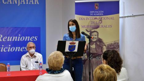 Diputación lleva Canjáyar el Día Internacional de las Mujeres Rurales