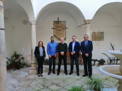 La Junta rehabilita la torre del convento de San Luis de Vélez Blanco