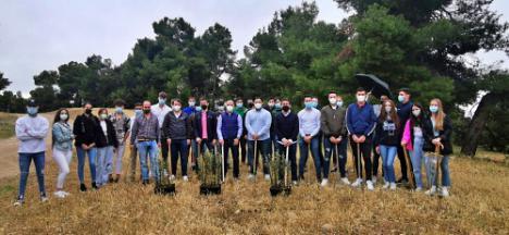 NNGG planta más de 100 árboles en María para celebrar el Día Mundial del Medio Ambiente