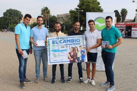 """NNGG destaca que """"el cambio llega a las universidades con Juanma Moreno"""""""
